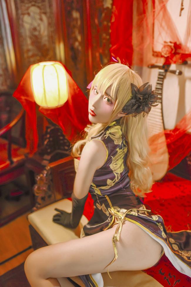 幻想,金瓶梅,金莲旗袍 cosplay