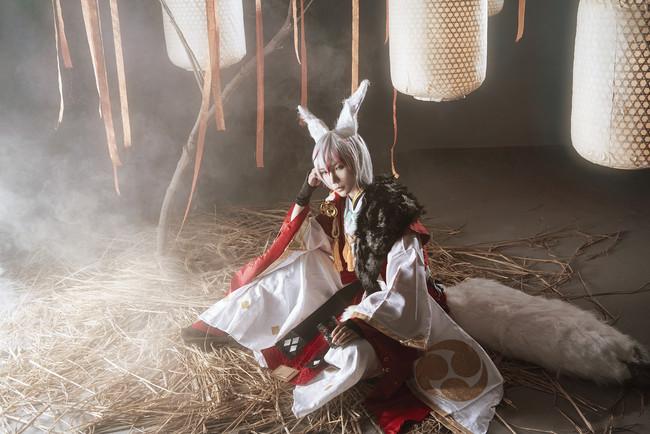 网易手游阴阳师,妖狐,cosplay图片