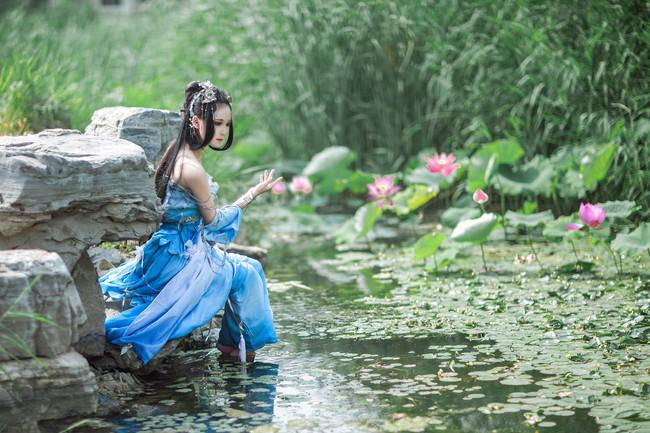 剑侠情缘网络版叁,七秀,御姐,cosplay