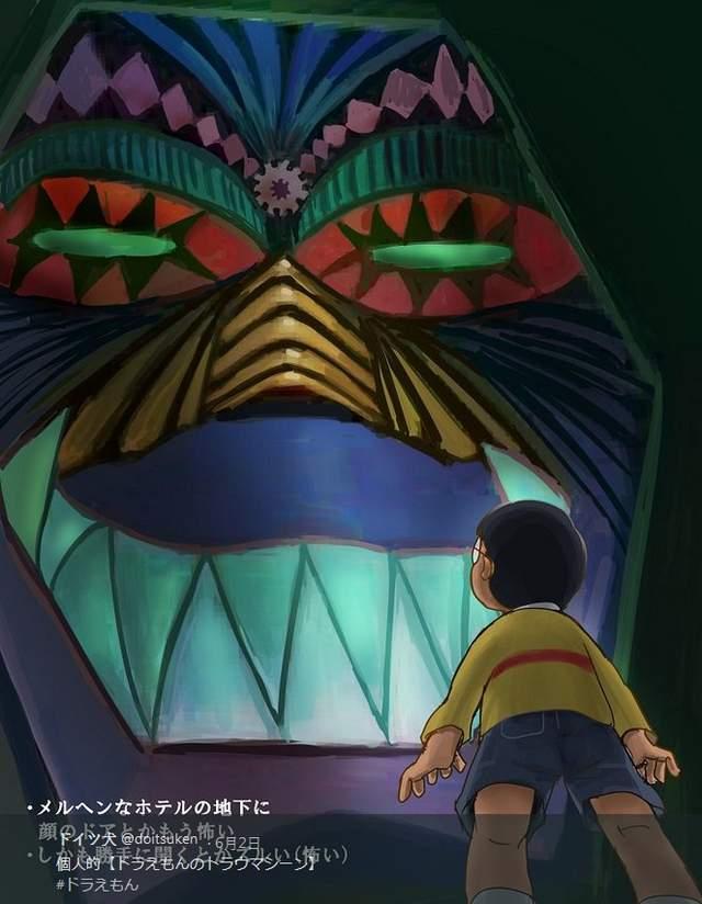哆啦A梦恐怖