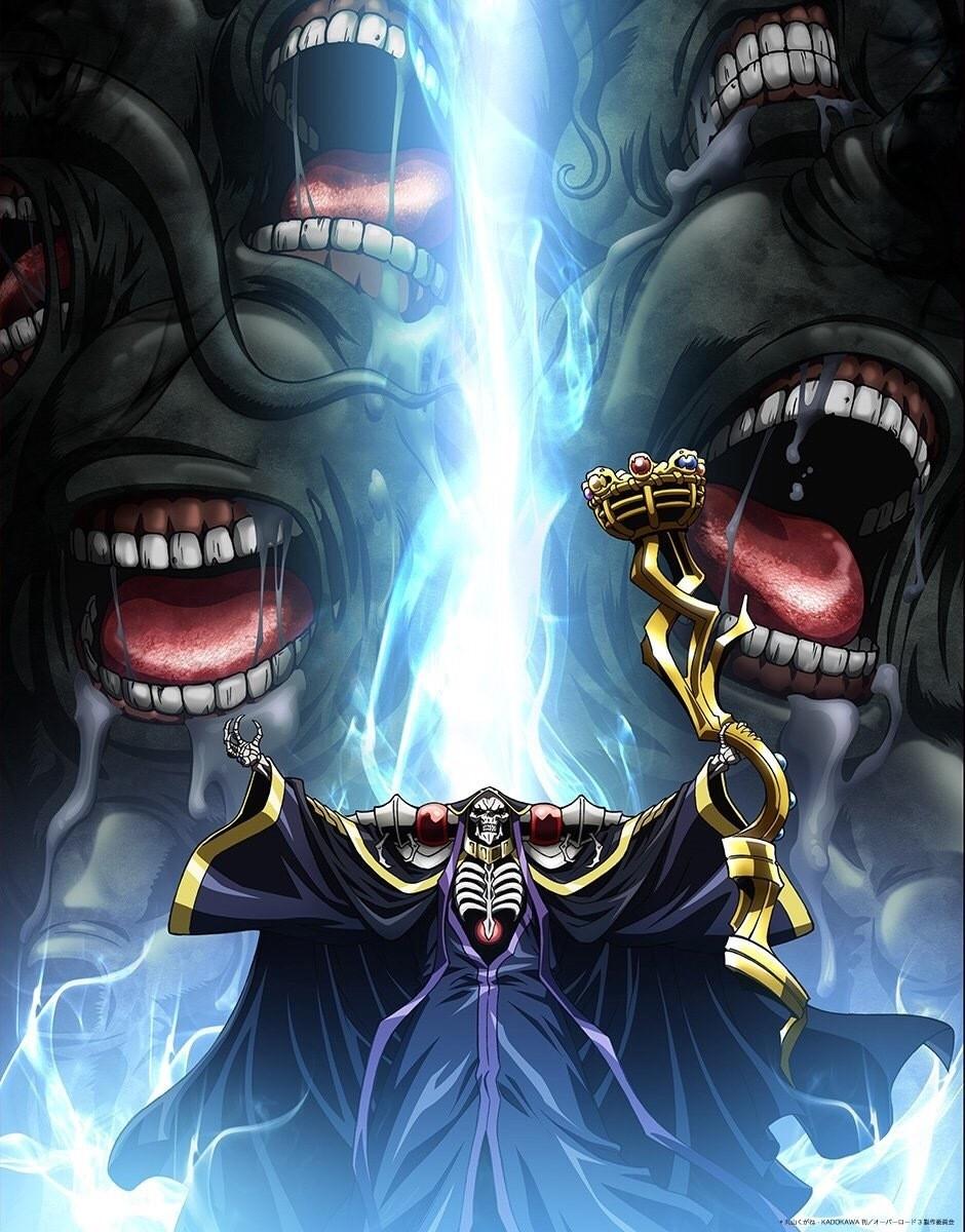 18年7月新番,18年七月新番,骨傲天,Overlord,不死者之王