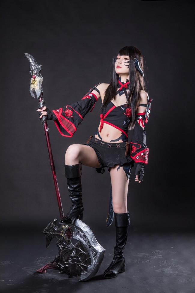 最终幻想XIV,紫水龙娘战士,ChonoAki蝶野秋
