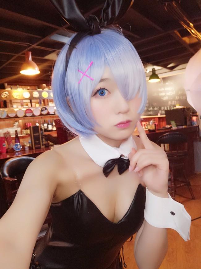 蕾姆兔女郎,亭亭子,cosplay