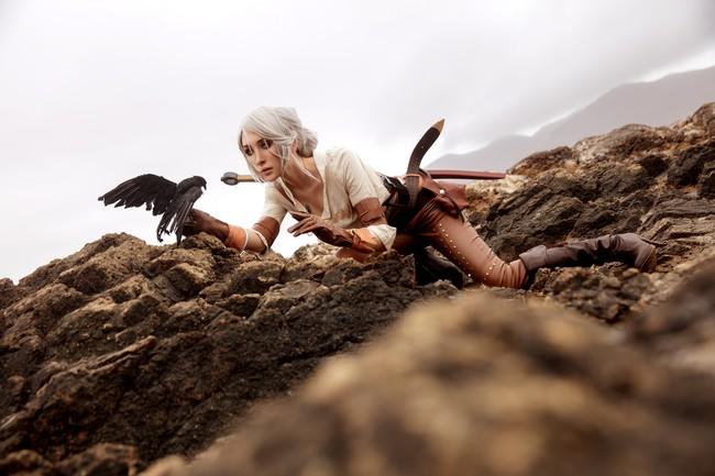 巫师3:狂猎,希里cos,奥利奥剑流流