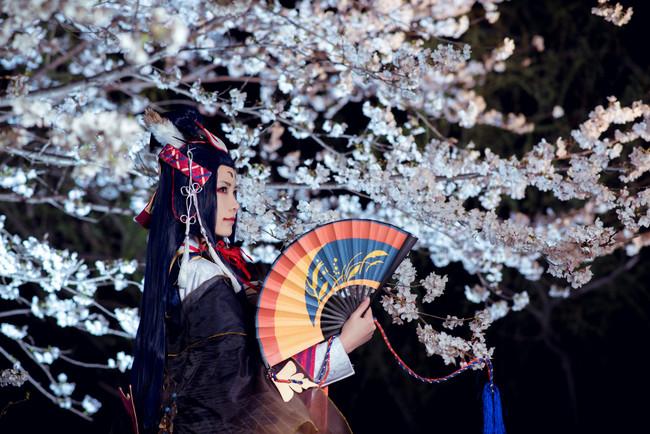 阴阳师,玉藻前,樱井咲