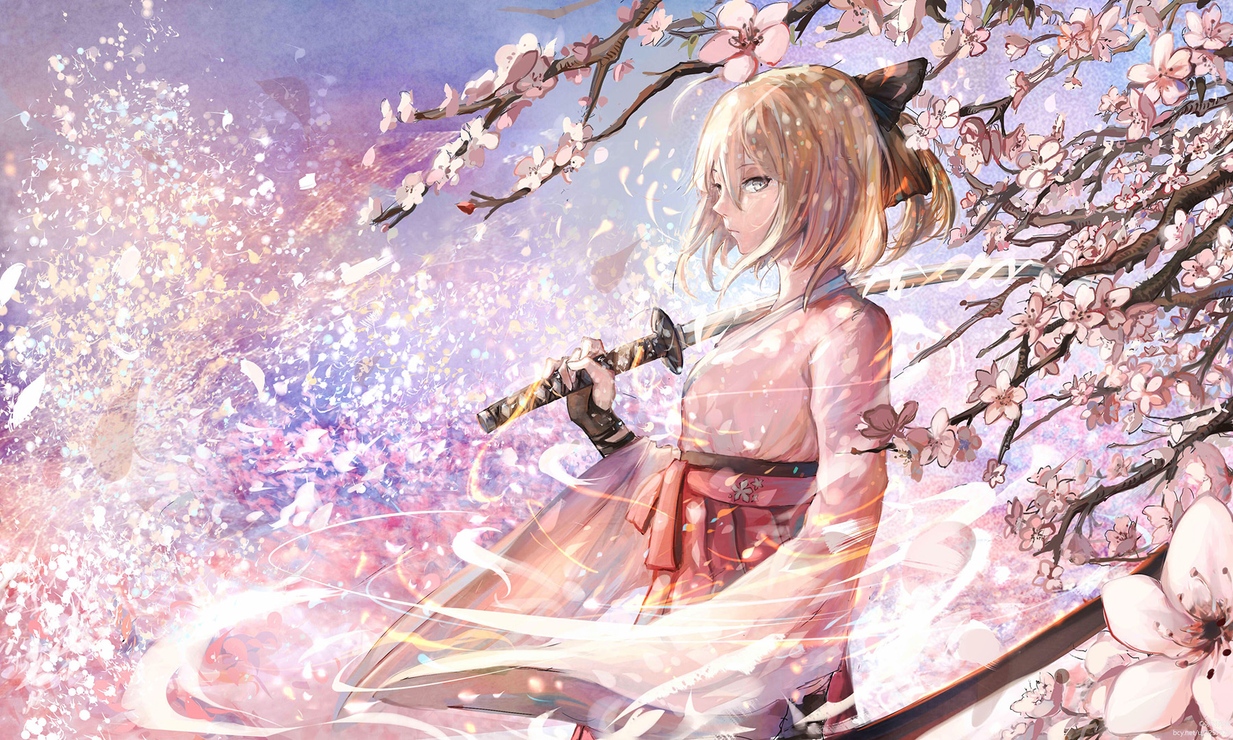 Fate/Grand Order,樱saber,冲田总司,