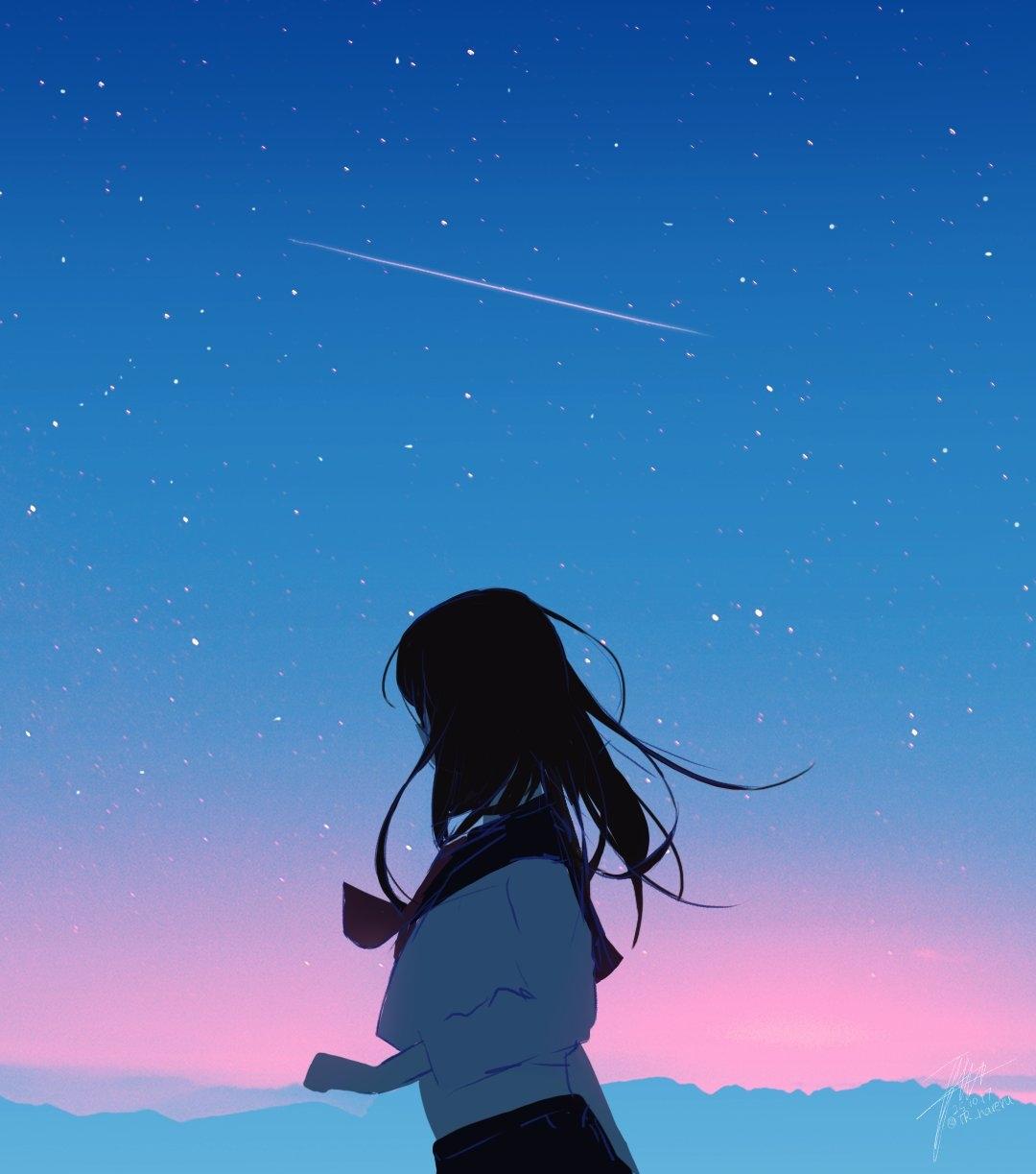 id=65595759,唯美星空壁纸,动漫女生图片,动漫唯美壁纸