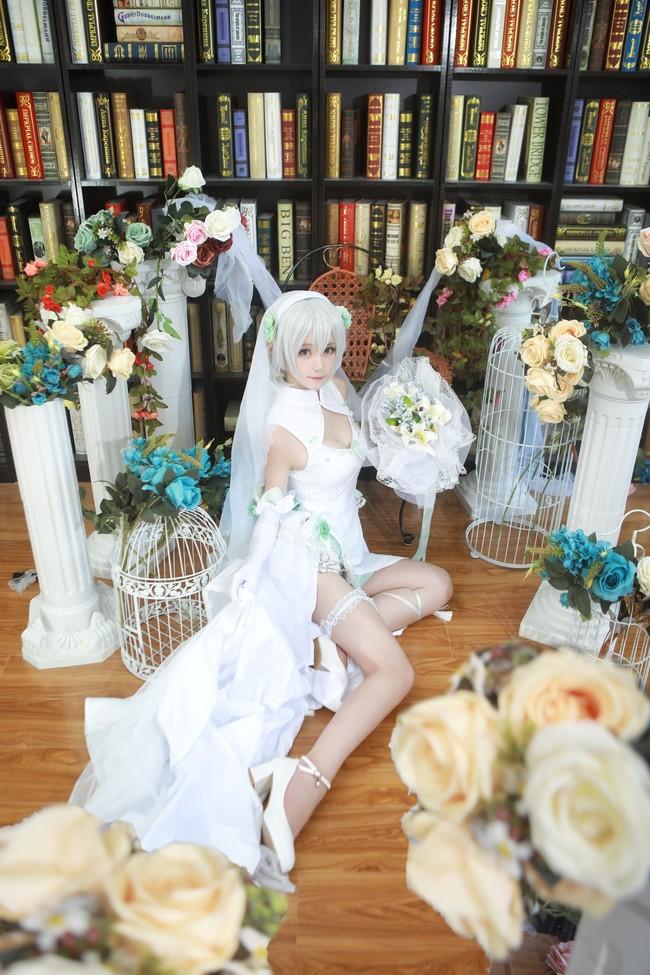 VOCALOID,洛天依,乐正绫,言和,花嫁,cosplay