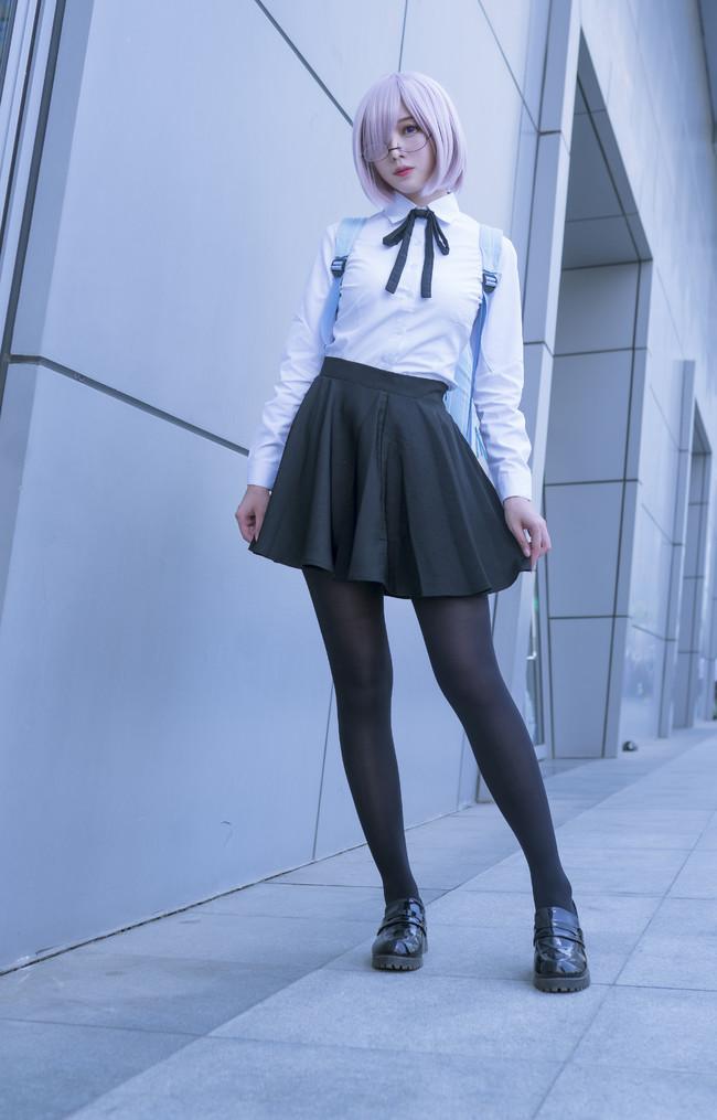 Fate,马修,黑丝,学妹,cosplay