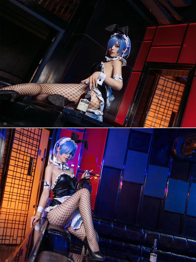 Re:从零开始的,蕾姆,兔女郎,cosplay