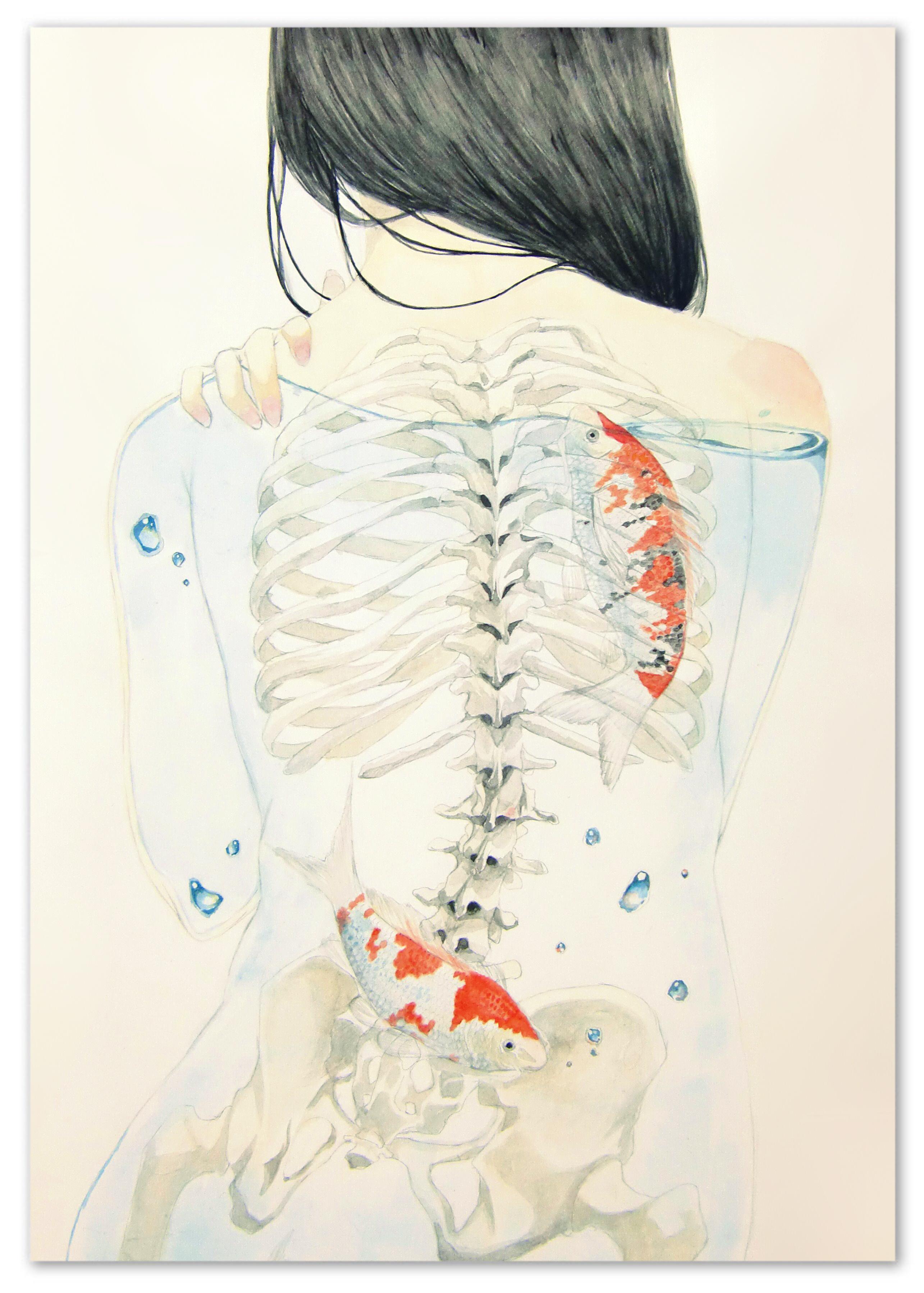 id=35843766,动漫唯美壁纸,动漫女生图片,骨头与少女壁纸