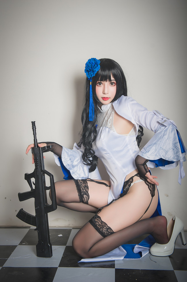 少女前线,黑丝,美腿福利,cosplay