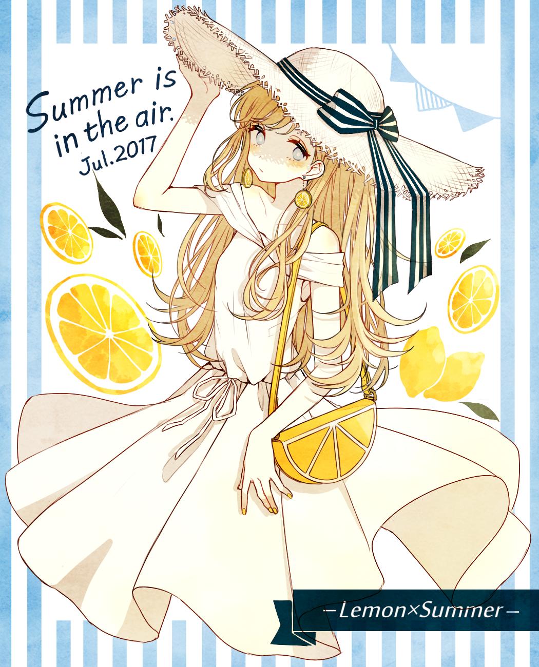 id=64066590,动漫手机壁纸,柠檬少女,动漫唯美壁纸