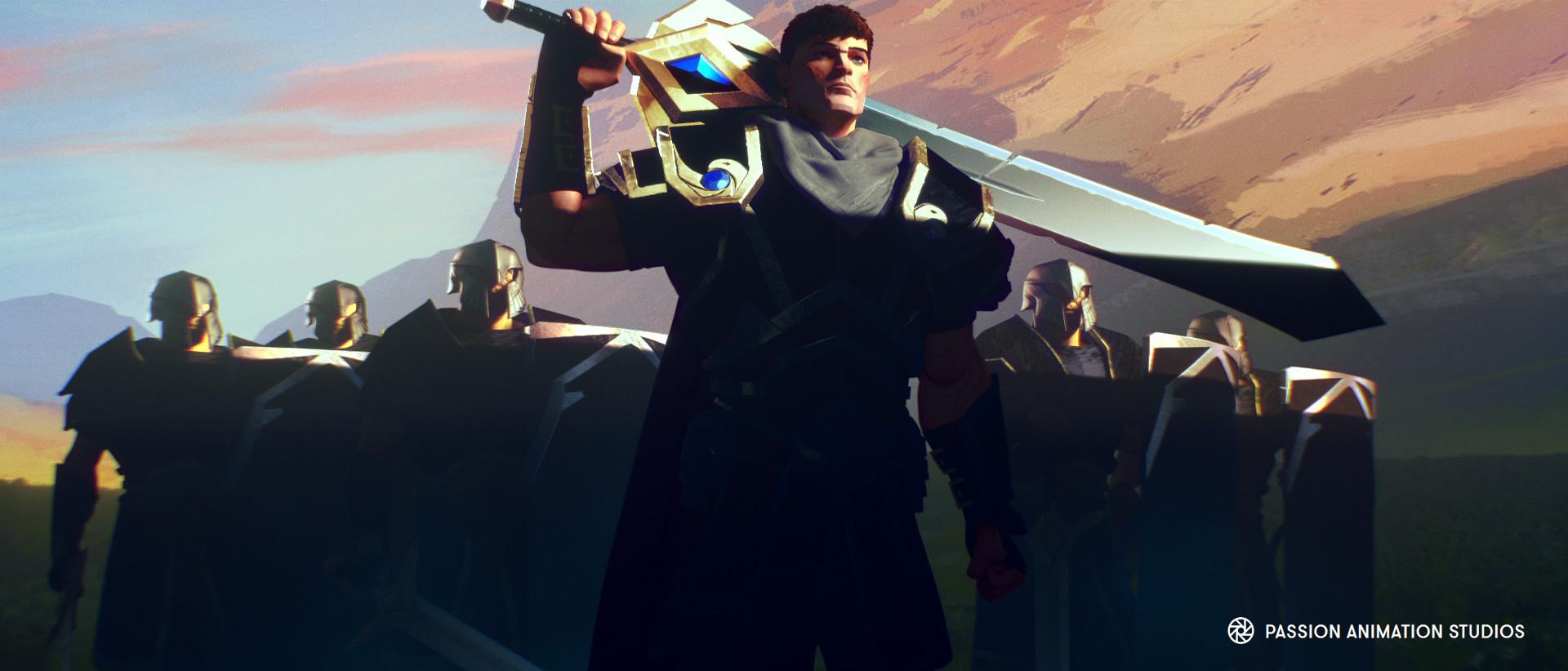 Legends Never Die宣传动画,英雄联盟S7主题曲,英雄联盟高清壁纸,