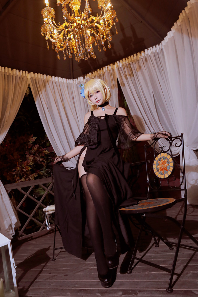 Fate/Grand Order,贞德,腿部福利,cosplay