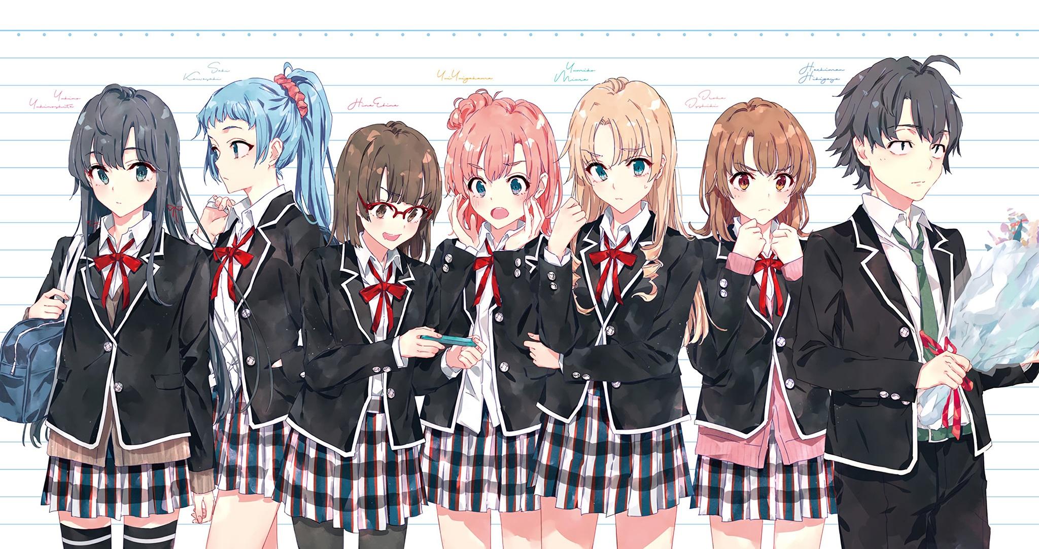 """《我的青春恋爱物语果然有问题》结局已定,完结篇第14卷2019年""""初""""发售"""