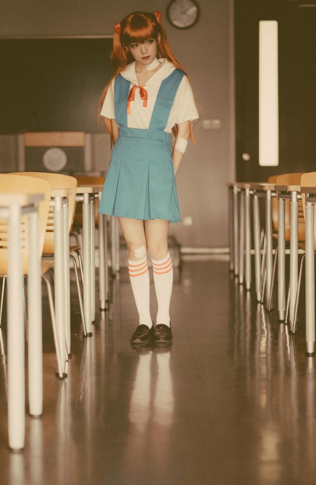 新世纪福音战士,EVA,明日香,JK,cosplay