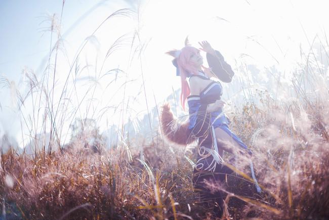 Fate/Extra,fate,玉藻前,cosplay