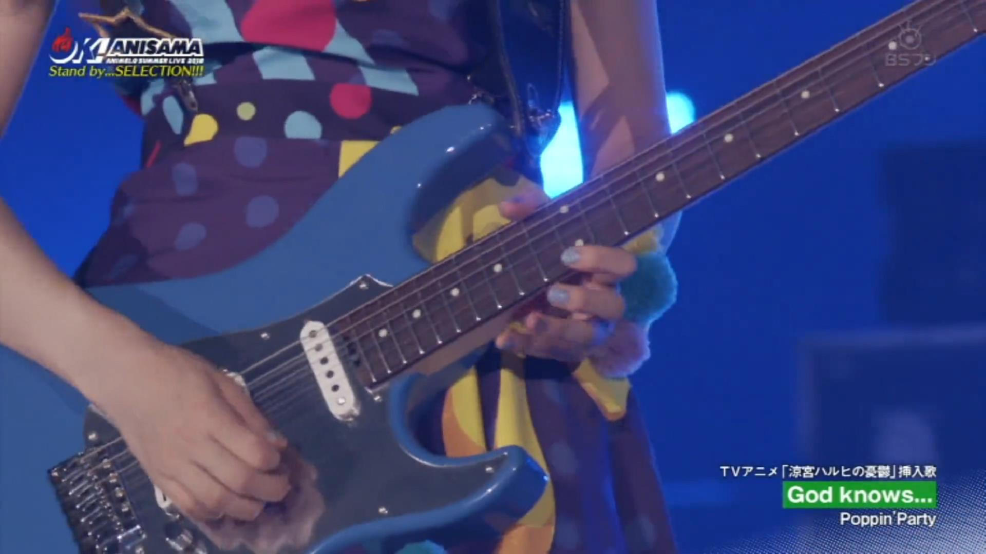 Poppin'Party,God knows,Animelo Summer Live