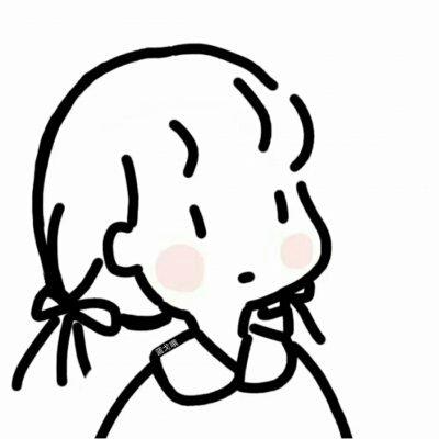 简笔画,QQ头像,头像,QQ