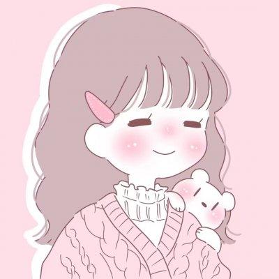 可爱,粉色,动漫,情头