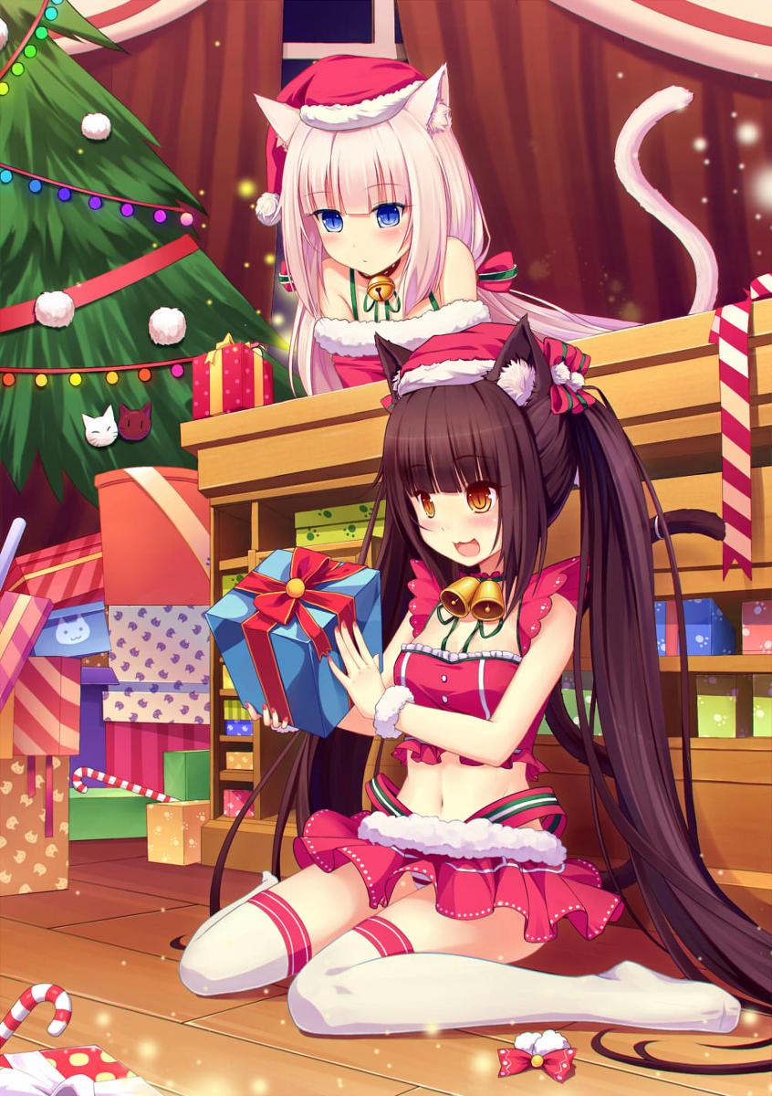 动漫壁纸,圣诞动漫壁纸,圣诞壁纸,圣诞节,圣诞快乐