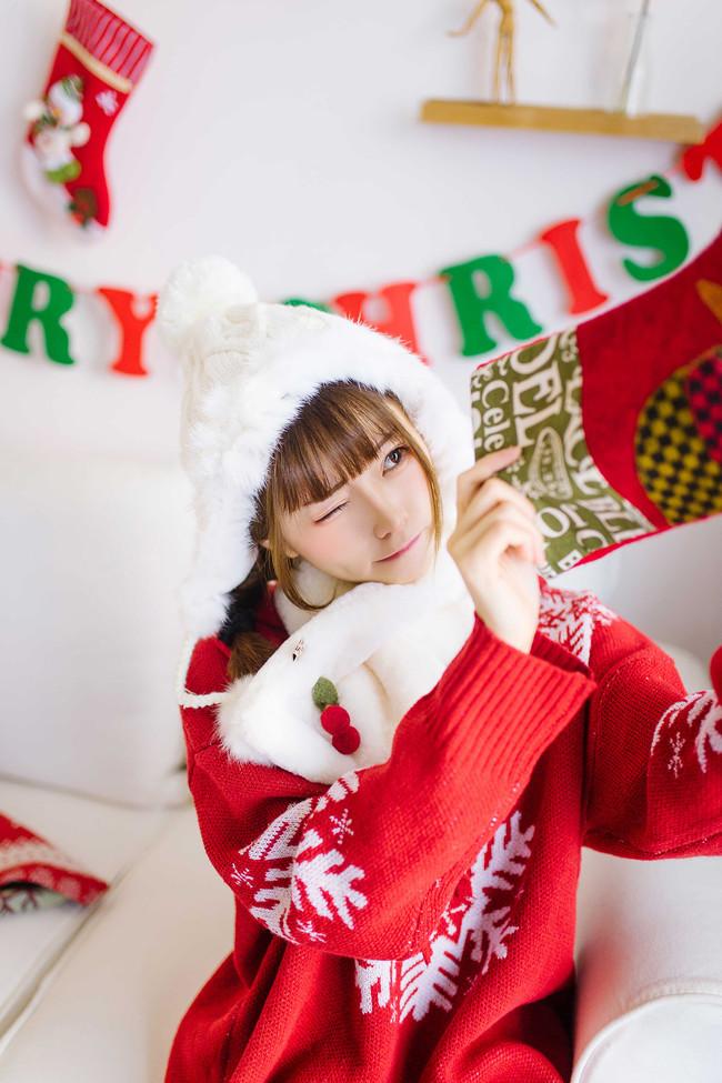 圣诞,美少女,少女写真,cos