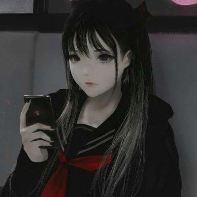 黑暗,动漫头像女生,女生动漫头像,动漫头像,QQ头像