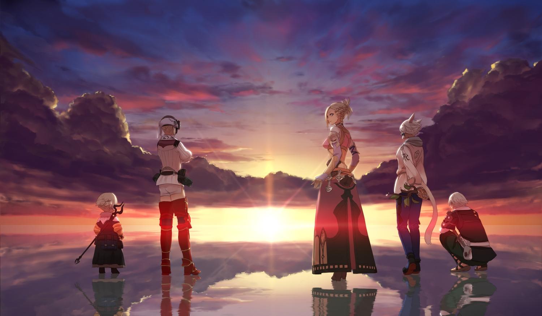 最终幻想,Final Fantasy,任天堂,游戏壁纸,二次元壁纸,电脑壁纸