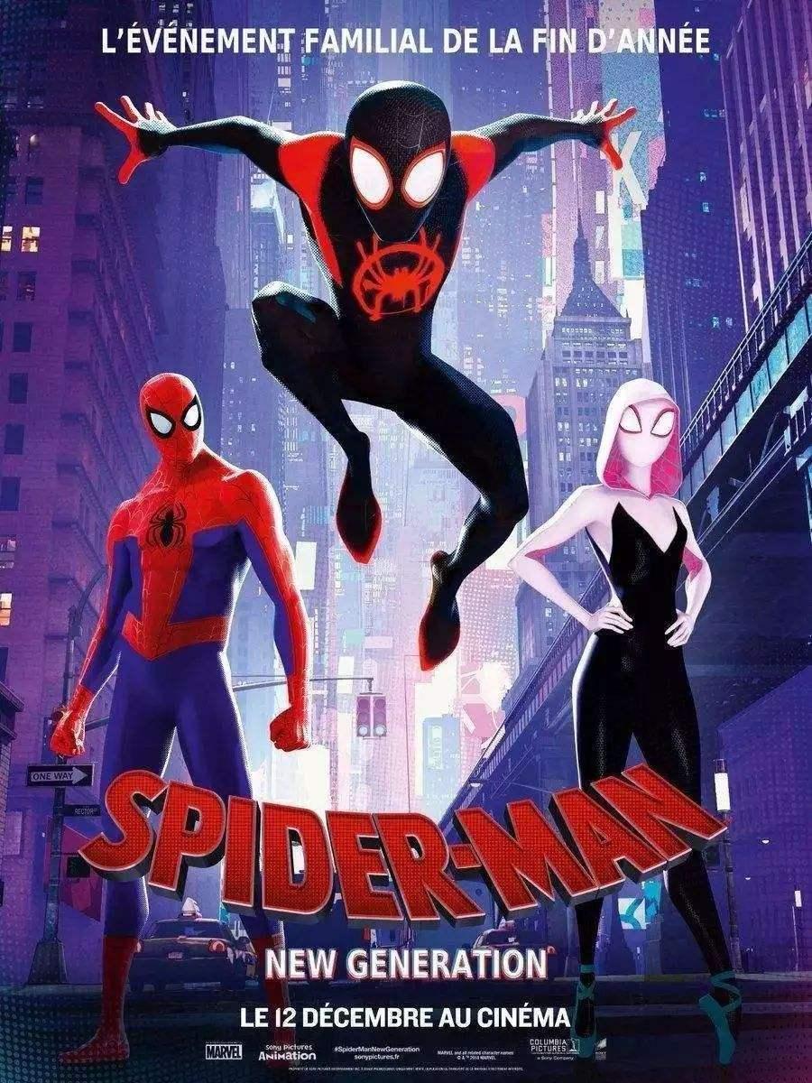 动画电影《蜘蛛侠:平行宇宙》日语版新预告公开