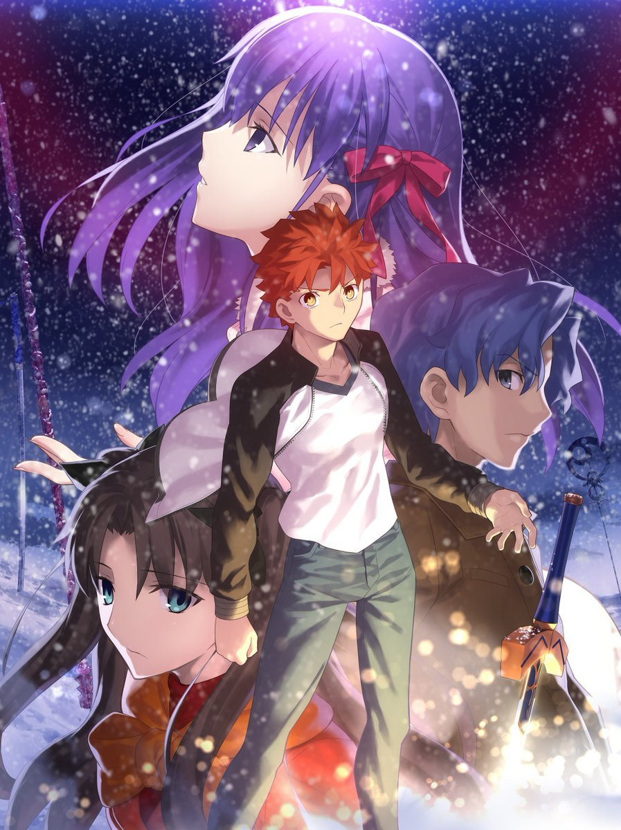 太强了,剧场版《Fate HF》第一章BD&DVD销量破10万