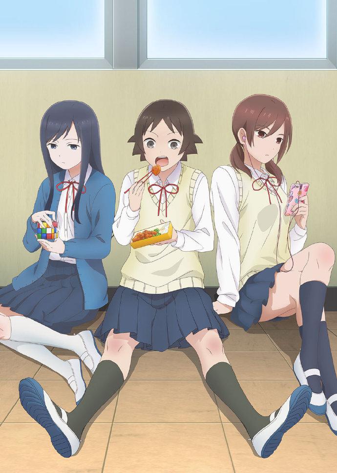 TV动画《女高中生的无所事事》声优公开 动漫资讯