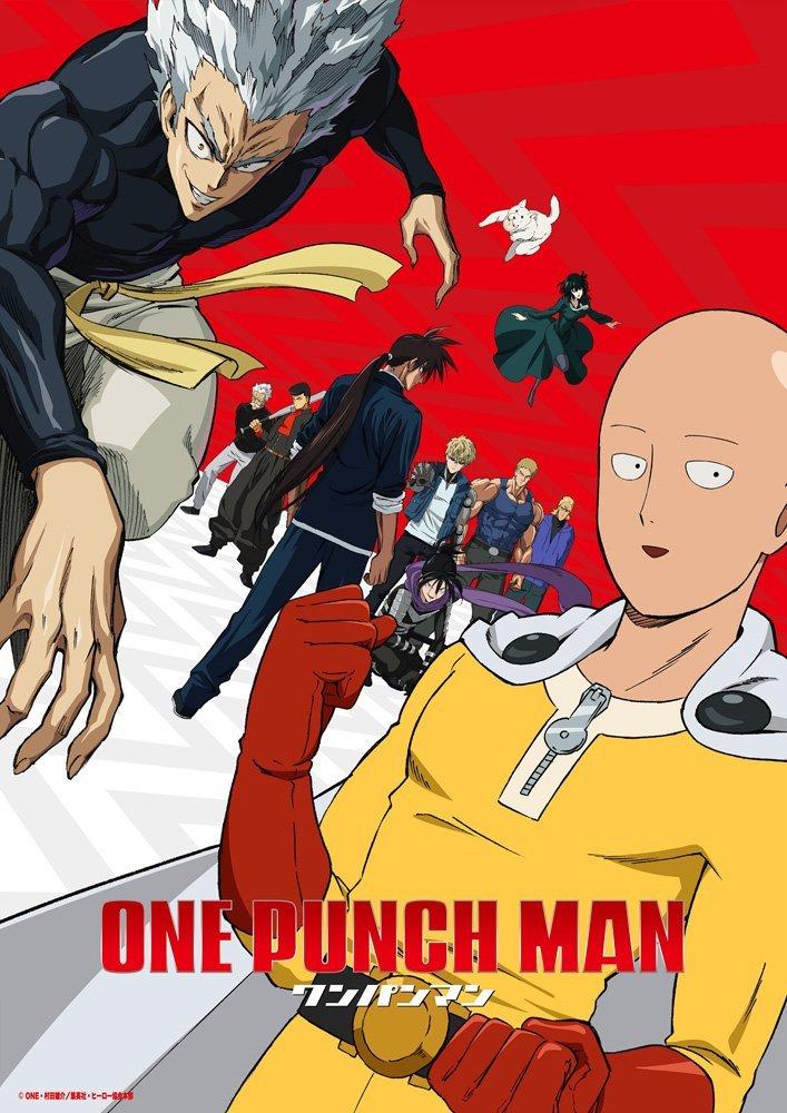 动画《一拳超人》第二季4月2日放送,新视觉图公开