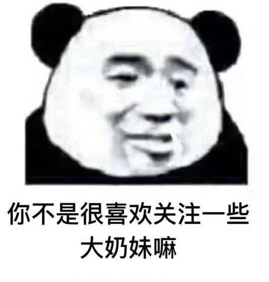 表情包,熊猫头表情,沙雕表情,斗图,情侣