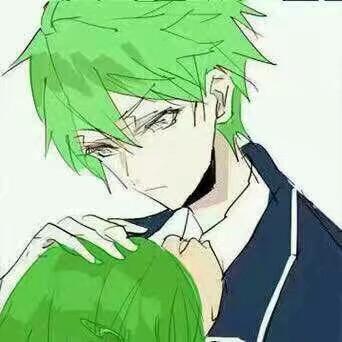 情侣头像,动漫头像,可爱头像,植树节,绿帽情侣头像,