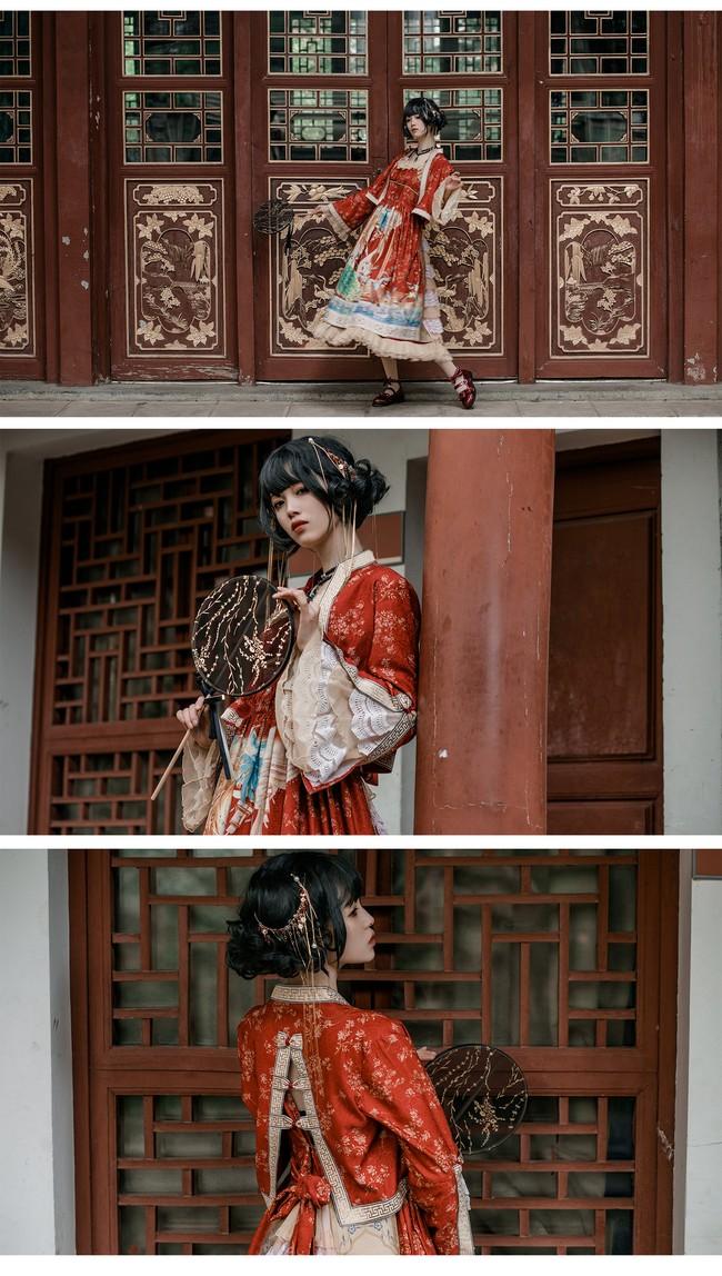 百鸟朝凤Lolita 私影 COS正片-第2张