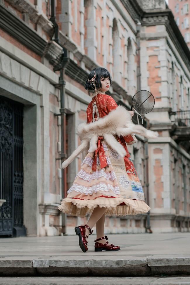 百鸟朝凤Lolita 私影 COS正片-第3张