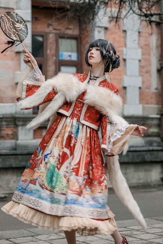 百鸟朝凤Lolita 私影 COSPLAY-第6张