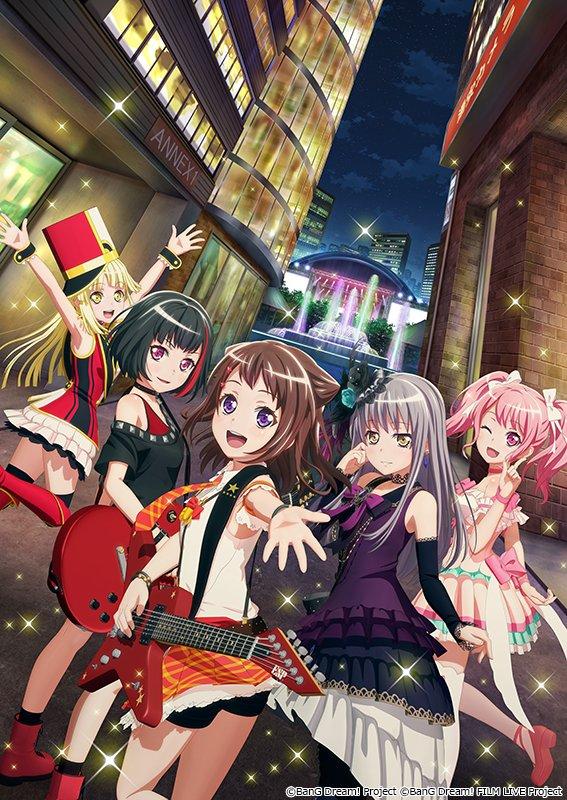 BanG Dream!,Poppin'Party,邦邦剧场版,roselia