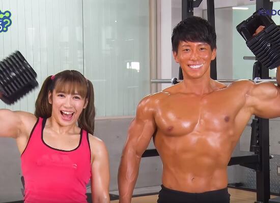动画《流汗吧!健身少女》OP&ED MV映像公开,肌肉澎湃