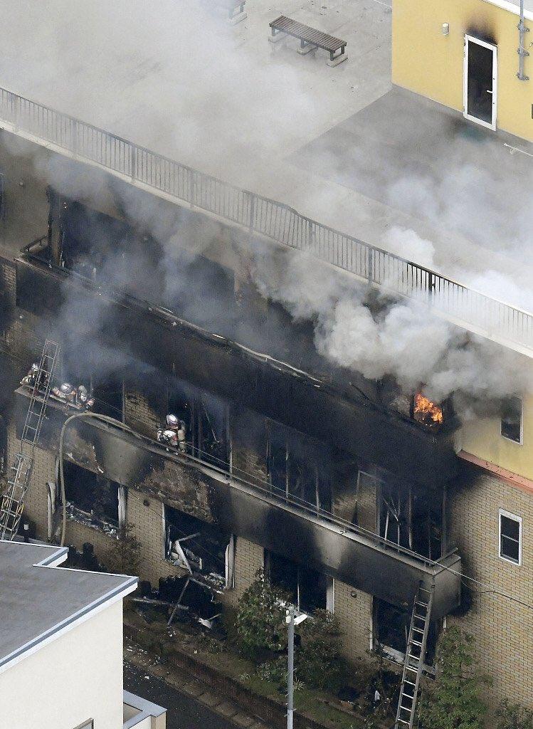 京都动画京阿尼本社发生火灾,不仅画没了人也没了