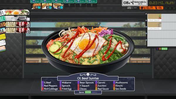《烹调,上菜,美味!3!》游戏于明年登陆Steam