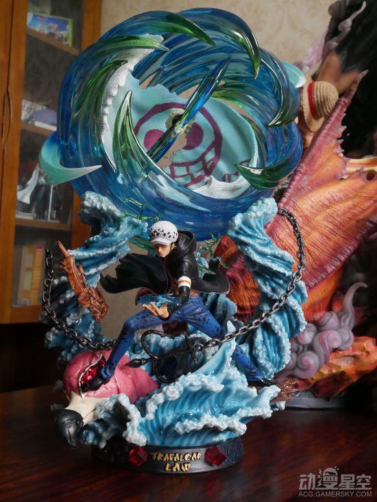 《海贼王》罗战斗雕像 大招出手战力破表