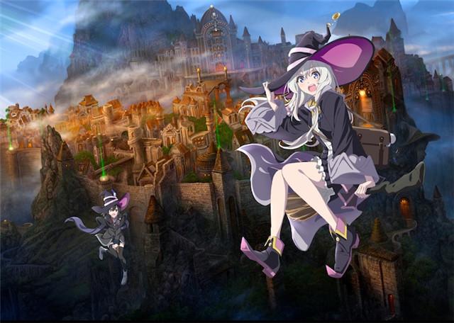 轻小说《魔女之旅》TV动画化决定!C2C负责制作