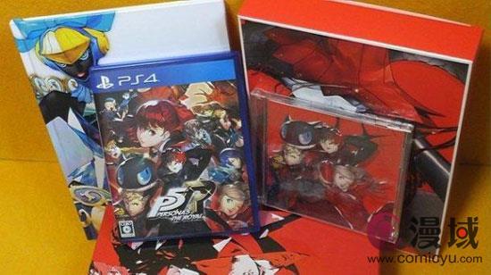 终于等到你 《女神异闻录5R》发售 等待日本玩家抢购