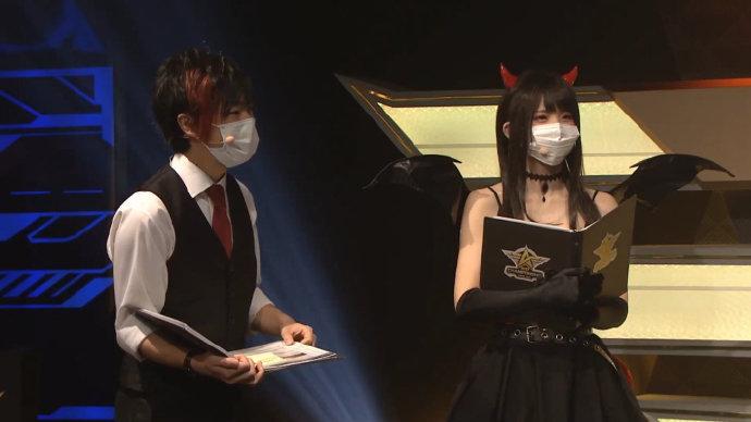 enako 在「东日本王者决议战」经受MC助手