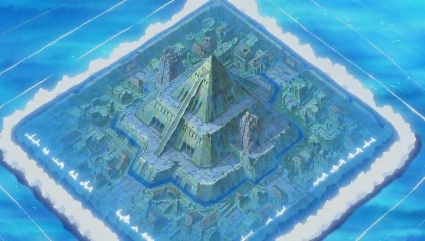 海底金字塔的图片